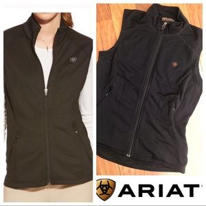 Ariat  Black Fleece Vest